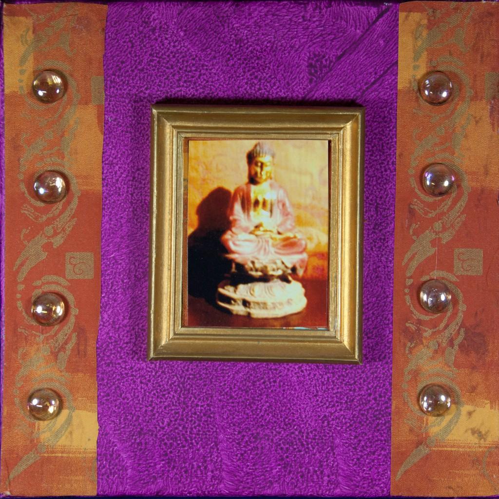 buddha magenta