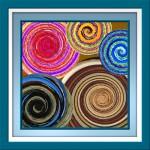 spiralen im rahmen